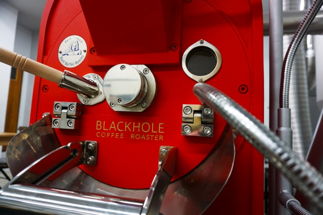 Blackhole Coffee Roasterで使用している焙煎機 Meister5