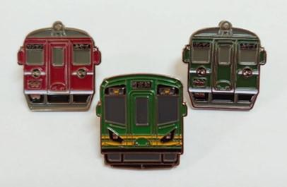 左から順に「MF100形」・「KTR302」・「MF200形」