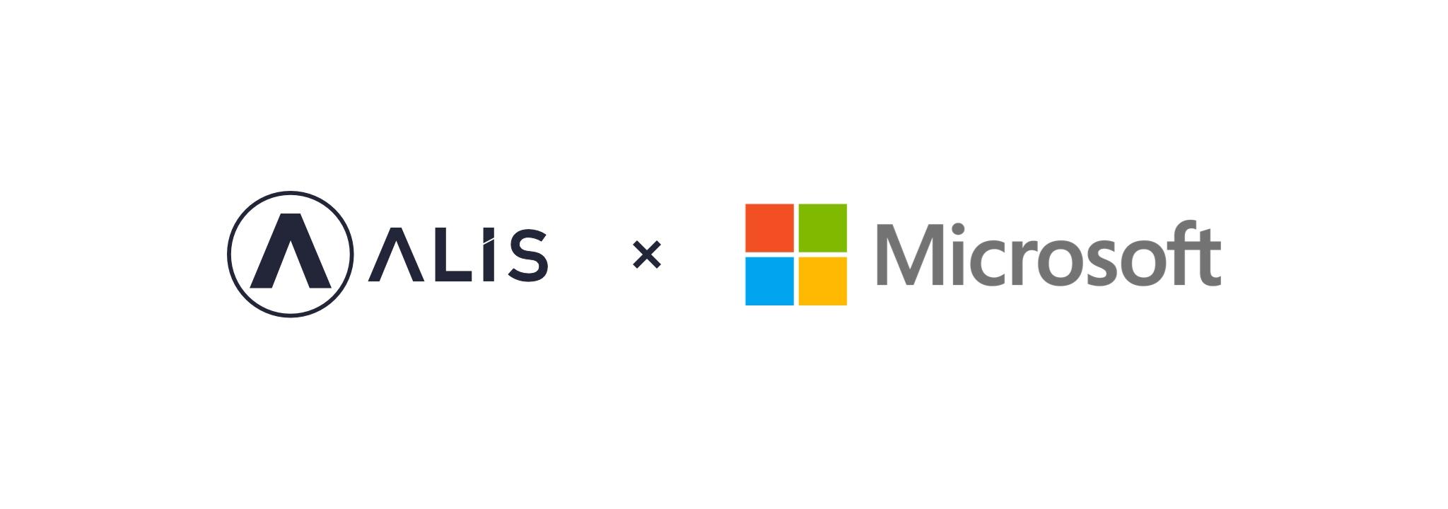 Alis トークン 業界初、alisとマイクロソフトが投げ銭api開発のための協業を