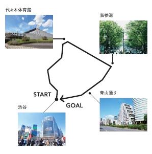 ▲【SHIBUYA 01】コース周遊