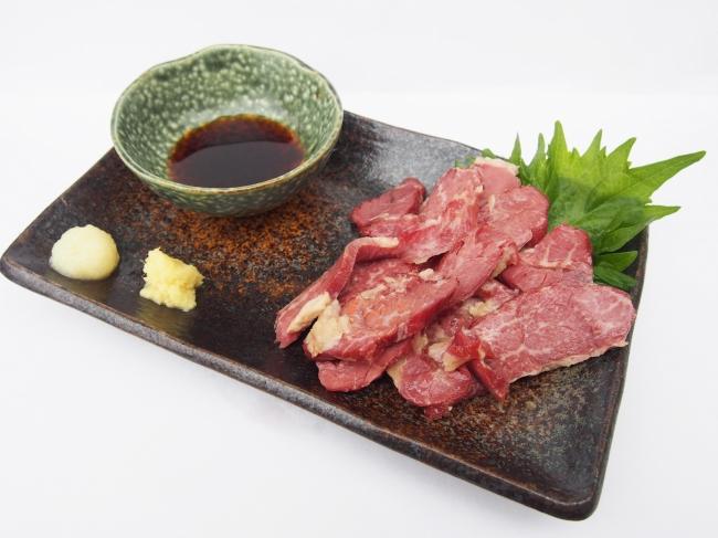 大阪・河内名物 さいぼし626円 (馬肉の燻製)