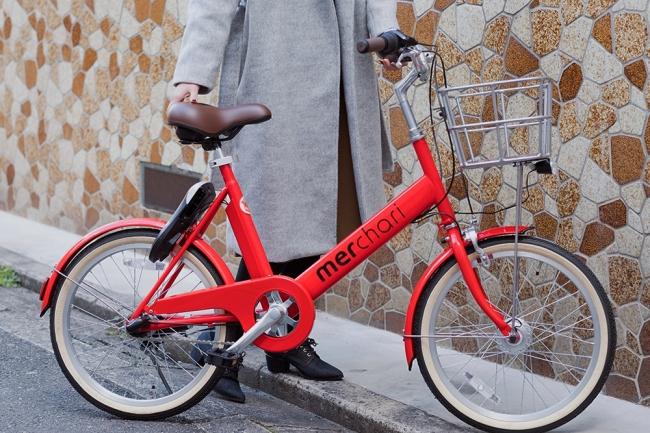 20インチの乗りやすい自転車