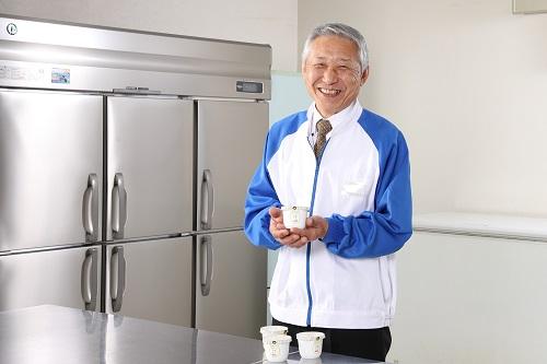 ジャージー牛乳プリン開発者