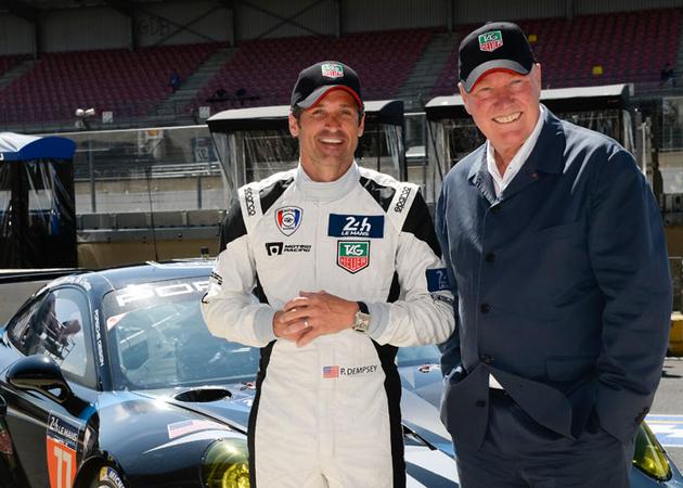 タグ・ホイヤーがル・マン24時間耐久レースに挑むハリウッドの名優 パトリック・デンプシーのレーシングチームとパートナーシップを締結