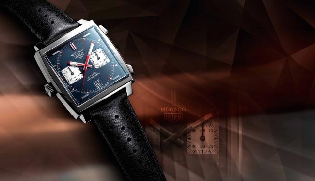 premium selection 356fe 73c47 タグ・ホイヤー「モナコ」誕生50周年を記念し、ヘリテージピース ...