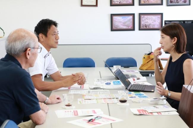新潟県「にいがたお米プロジェクト」の皆さんと、配送拡大や相談窓口について話し合い
