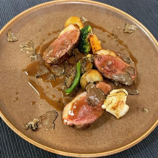 旬の食材を取り入れたイタリアン料理