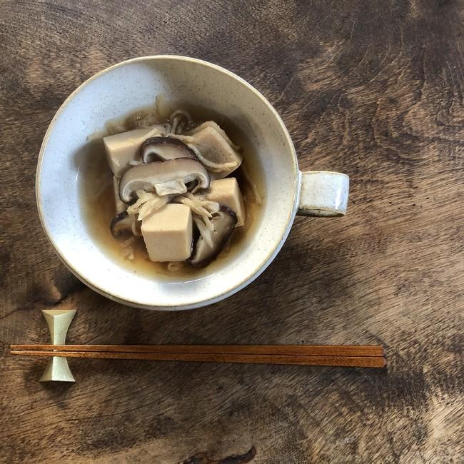 高野豆腐と切り干し大根の煮物