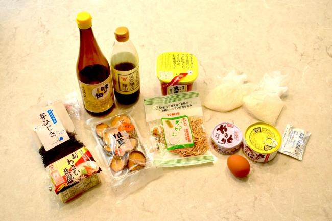 乾物など日本の伝統食材