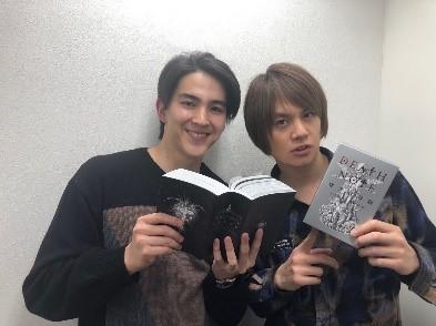 左より)甲斐翔真、浦井健治 提供:ホリプロ