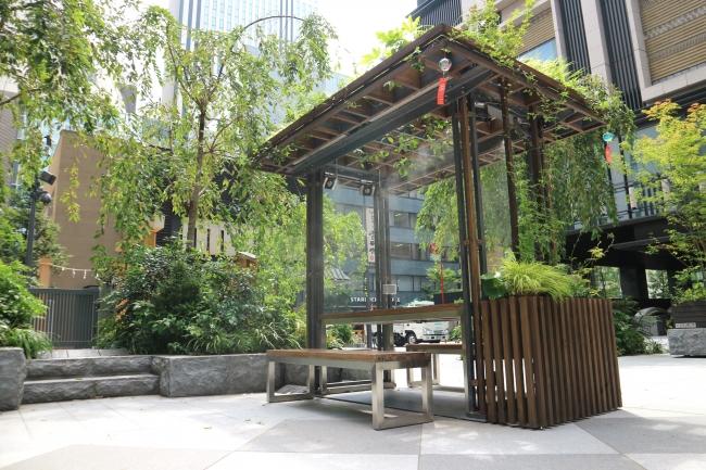福徳の森 ミストファンテーブル
