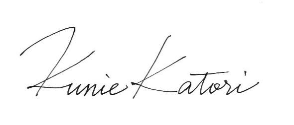 kunie Katori(クニエ カトリ)サイン