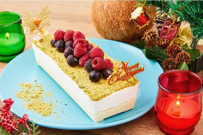 無添加、ヴィーガン、オーガニック。なのに、リッチで濃厚。「ココナッツグレン」から、プラントベースの濃厚クリスマスアイスケーキが数量限定で今年も登場!|さんたつ by 散歩の達人