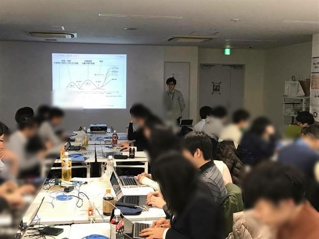 早稲田大学共創館でのセミナーの様子