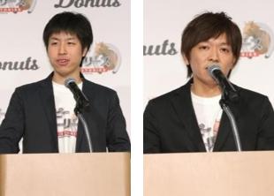 左:根岸取締役 右:小倉プロデューサー
