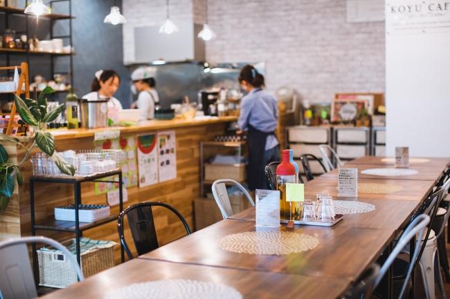 新富町の飲食店「こゆ野菜カフェ」(新富町富田)