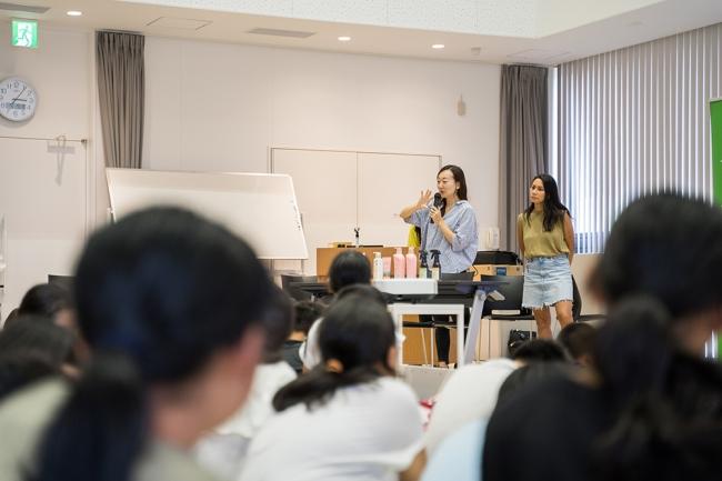 2019年8月に実現したユニリーバ・ジャパンと地元小学校の交流授業