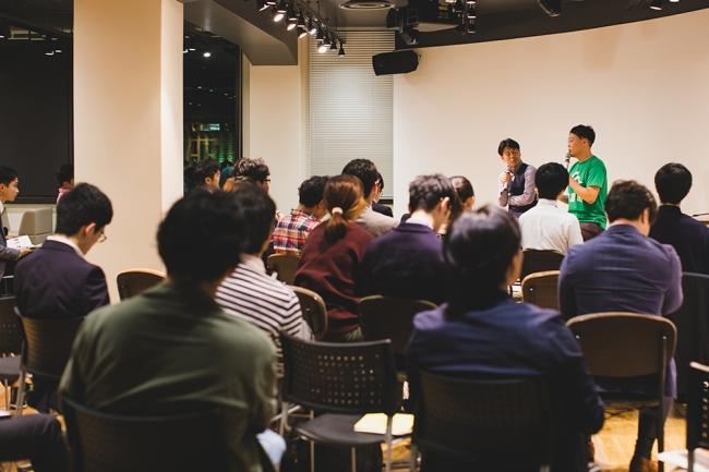 2019年10月に開催したAgVenture Labでのイベントには農業関係者、行政、教育機関関係者らが多数集まりました。