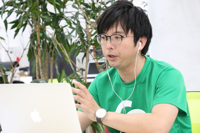 2020年5月9日、「あすの宮崎の教育のためのオンライン研修会」を開催中の中山