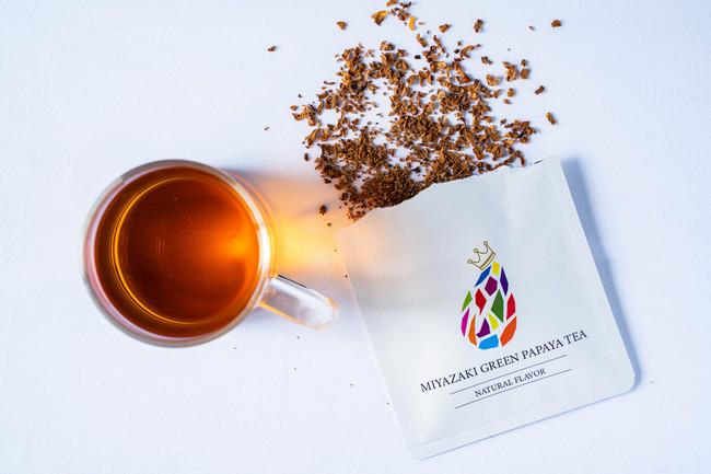 青パパイア100%使用。ほんのり自然な甘さの『MIYAZAKI GREEN PAPAYA TEA』