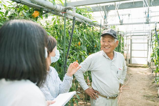 生産者とのコミュニケーション、取材活動で商品の魅力を引き出す(撮影:中山雄太)