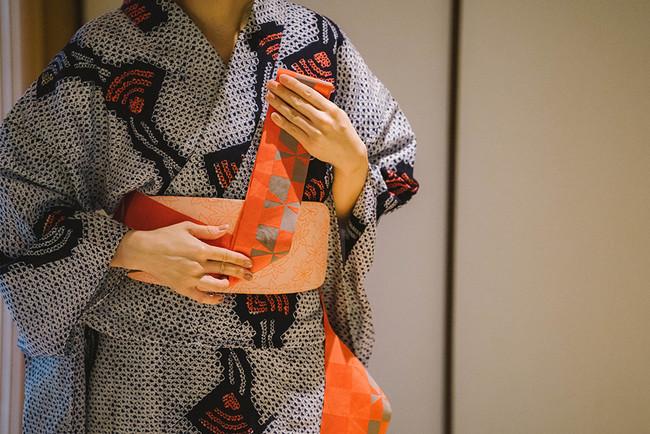 「茶心」では着付教室も実施しています(photo by Yuta Nakayama)