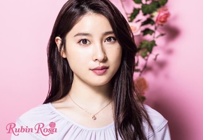 ルビンローザ ネックレス 「Sweet Pink シリーズ」RBN038PG-A