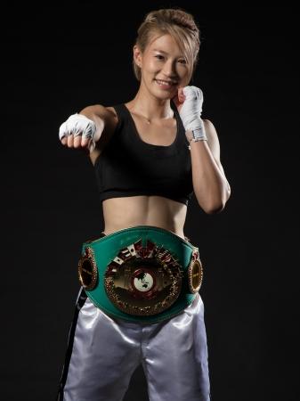 """国内初の女性王座決定戦!ビューティーナビは、""""プロボクサー兼モデル ..."""