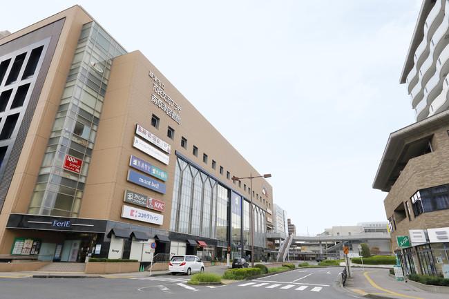 ▲JR南草津駅前