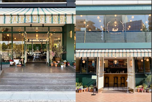 左:浅草ミズマチ店 右:六本木ヒルズ店