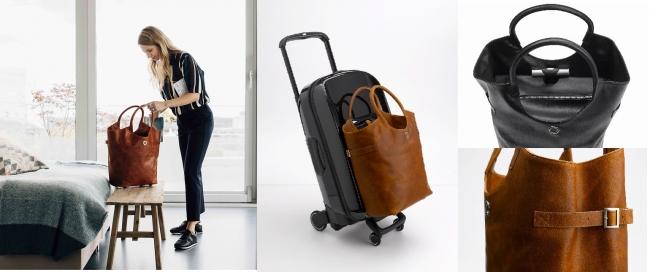 2046dcddcf 上品なショルダーバッグがローラーバッグに変身!オランダ人デザイナーが ...