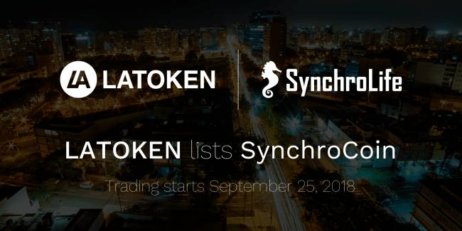 LATOKEN×SynchroCoin