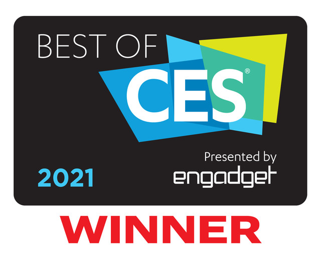 「Best of CES」受賞ロゴ
