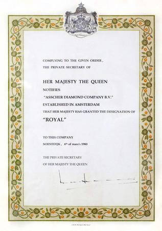 1980年と2011年の二度に亘り、オランダ王室より「ロイヤル」の称号を授けられた。