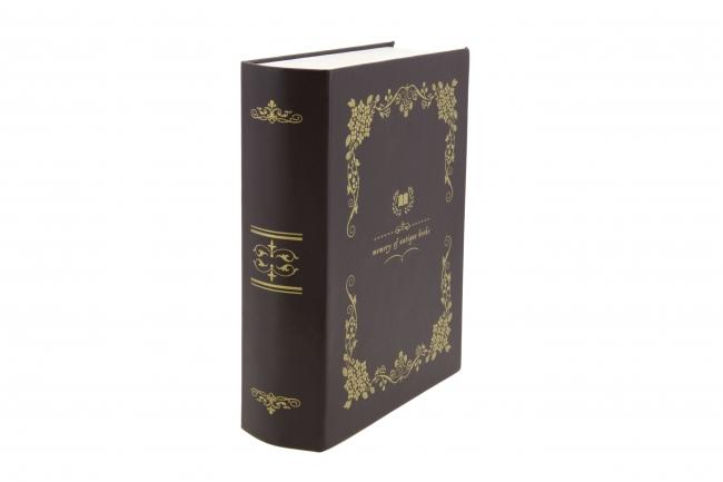 『「ビブリア古書堂の事件手帖」×Zoffコラボ 古書型ケース』縦置き