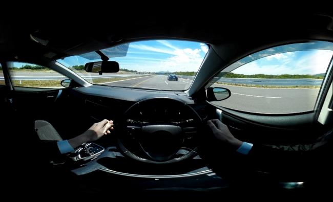 自動運転VR体験イメージ