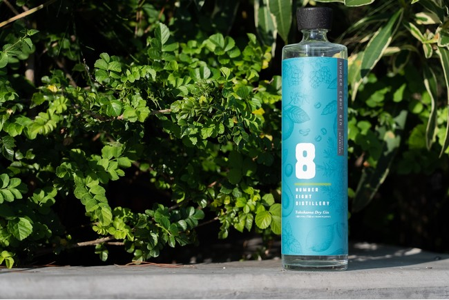 NUMBER EIGHT GIN Double Botanical 750ml  5,500円(税込み)