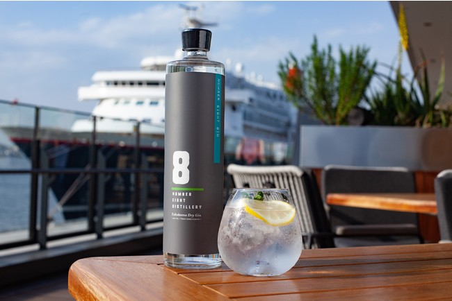 NUMBER EIGHT GIN 750ml  3,850円(税込み)