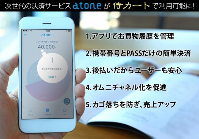 電話 番号 atone