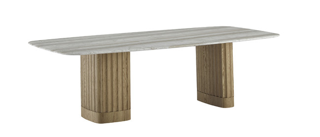 DORICO(テーブル)W.2400 D.1200 H.720mm ¥2,999,000(税抜)