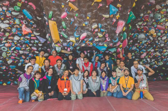 イベント開催時 スタッフ・ボランティアとの記念写真