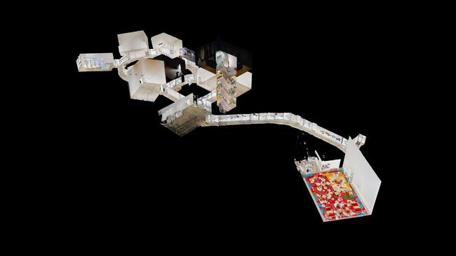 十和田市現代美術館 3DVR ドールハウス表示