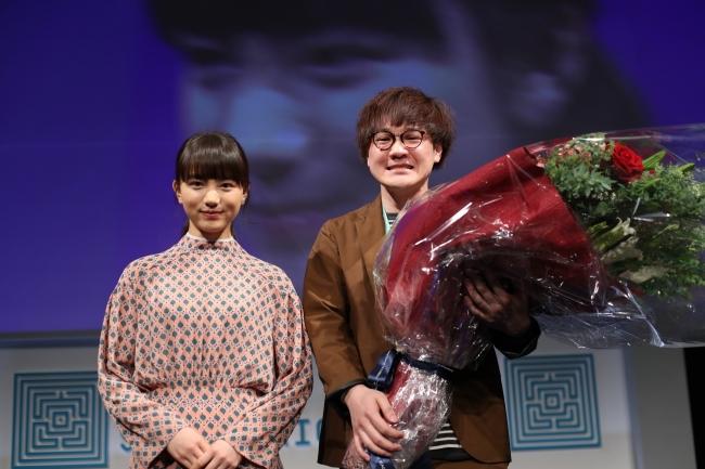 「第56回宣伝会議賞」のイメージキャラクターを務めたモデル・女優の清原果耶さんがプレゼンターとして参加。