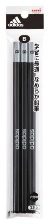 3Pパック鉛筆(硬度:B)