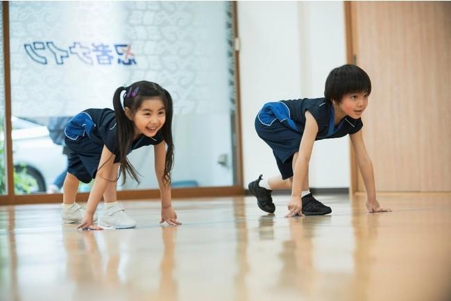 スポーツ科学にもとづいた幼児・小学生向けスポーツ教室「忍者ナイン」