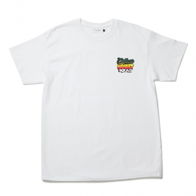 """Caribbean Sunday Squad Tee"" front"