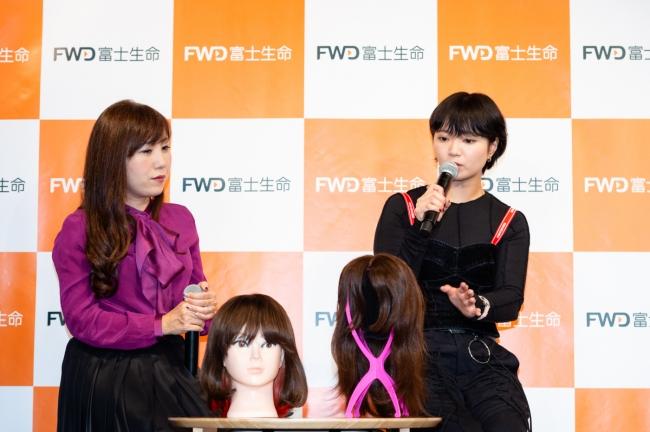岩岡ひとみさんと矢方美紀さん