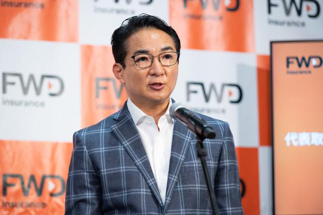 FWD富士生命保険 代表取締役社長 兼 CEO 山岸英樹
