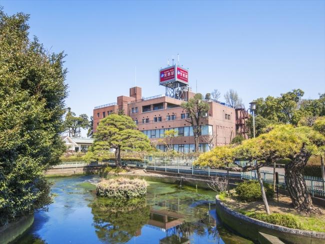 水と森と庭園があるガーデンホテル紫雲閣東松山