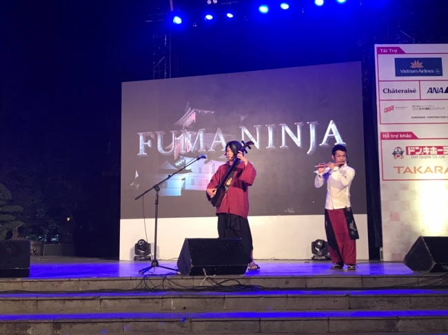 FUMA NINJA Legend of ODAWARA ベトナム・ハノイ公演2018